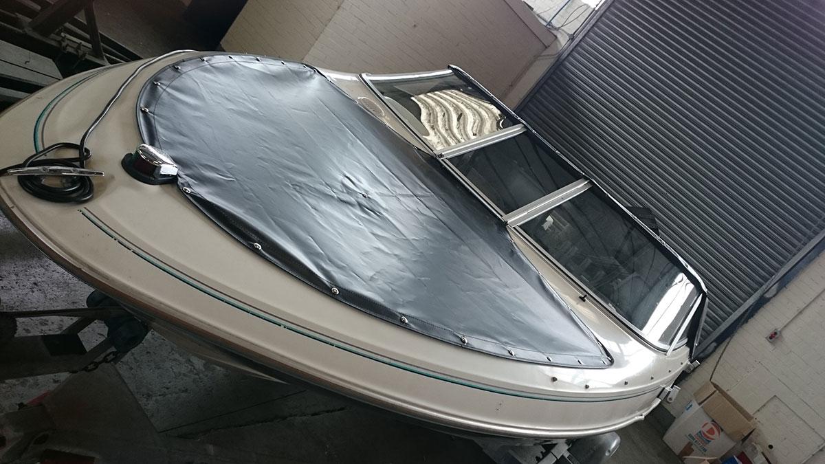 Bayliner Black Boat Cover 2