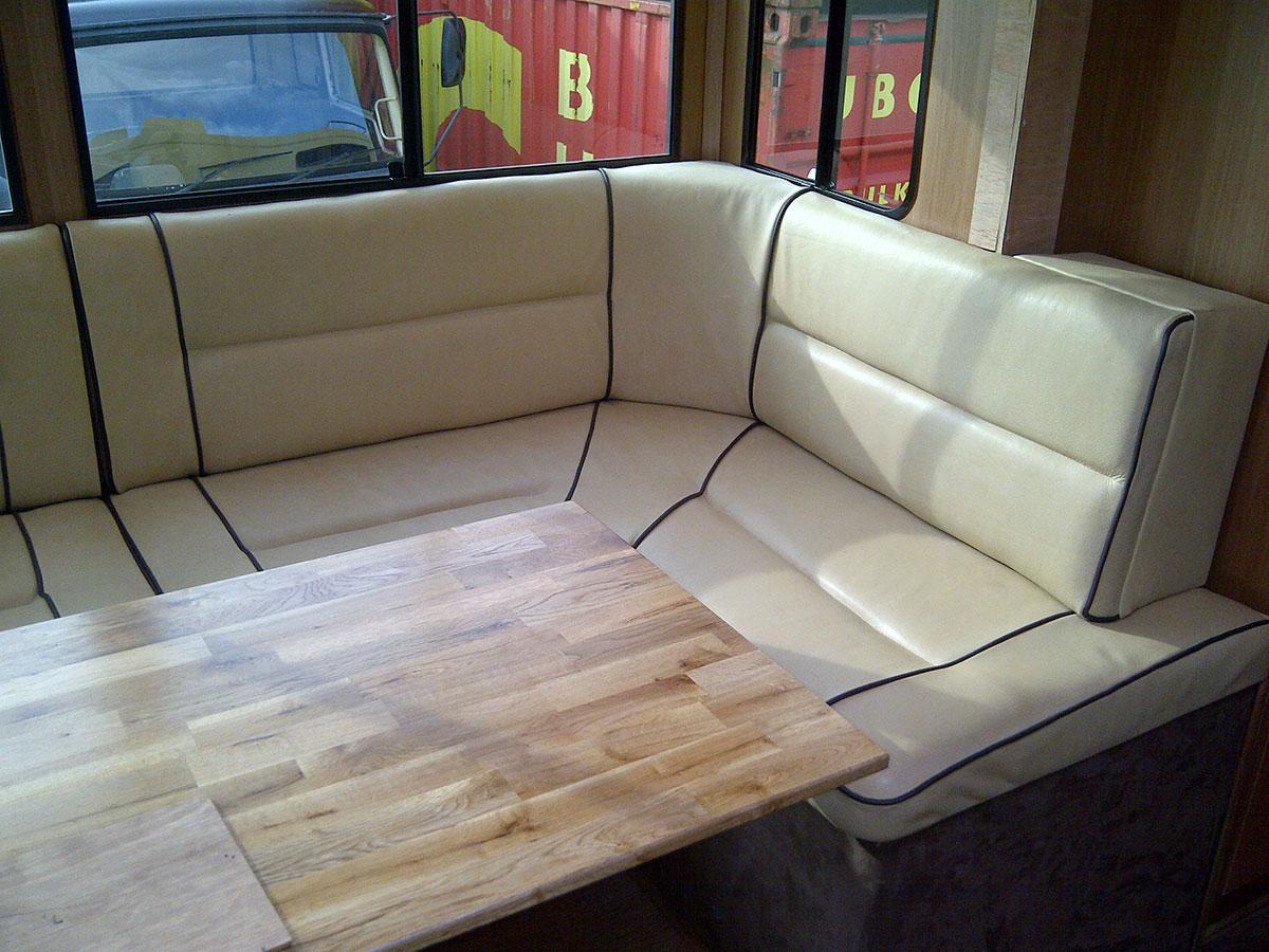 Camper van upholstery 2