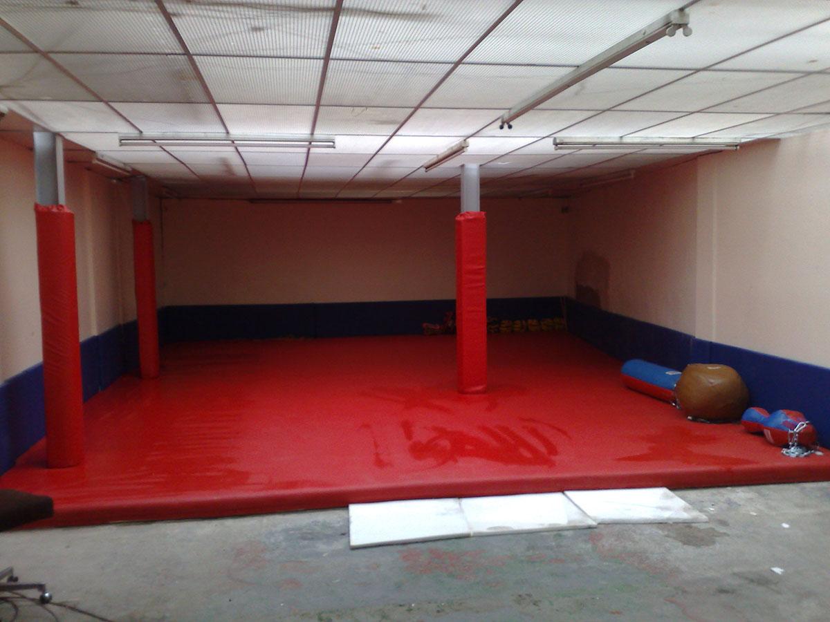 Red Gym Mat 3