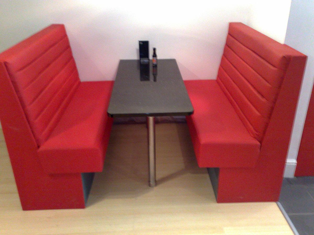 Red Restaurant Seat 1