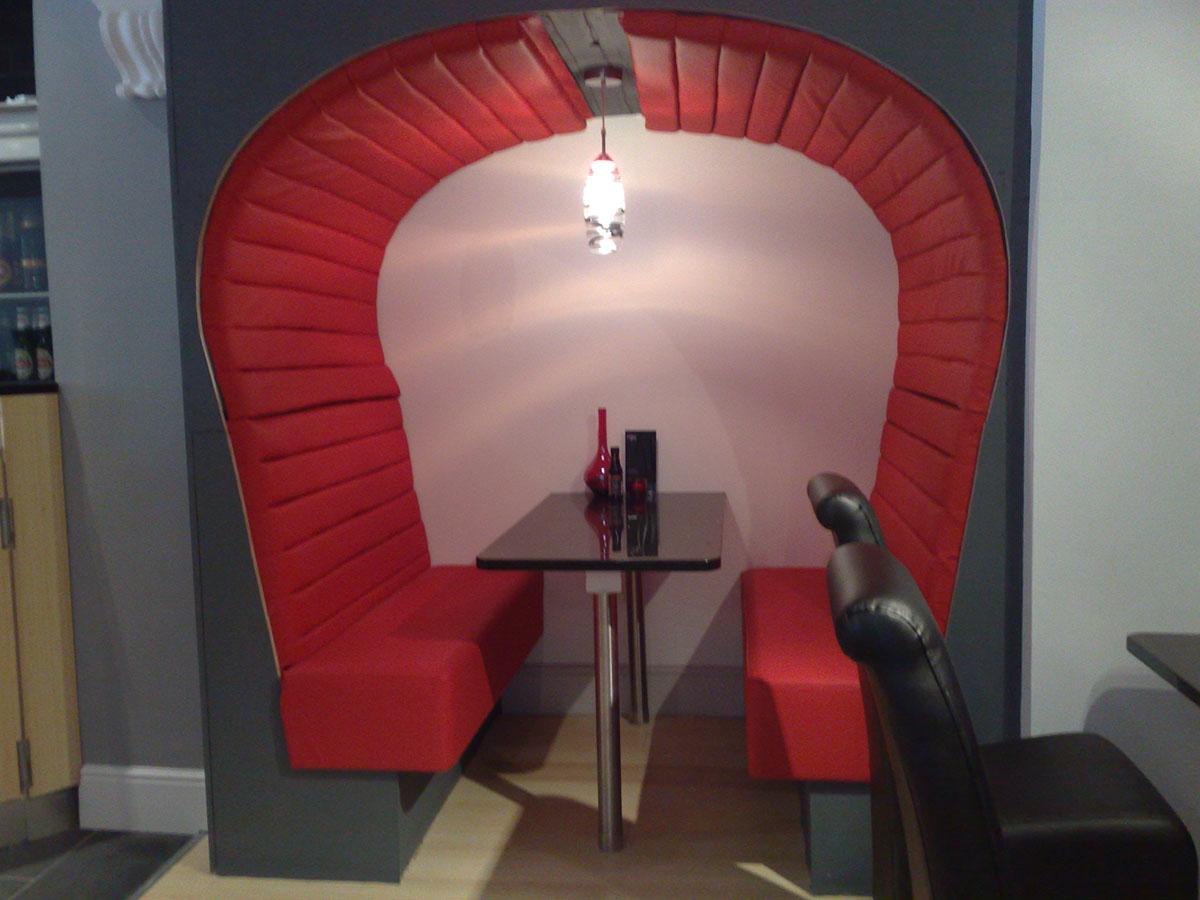 Red Restaurant Seat 2