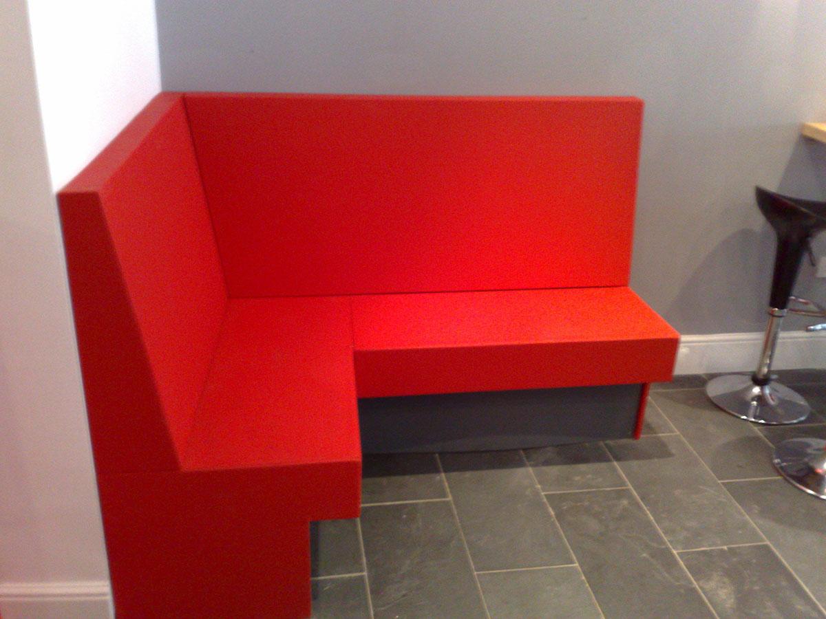 Red Restaurant Seat 3
