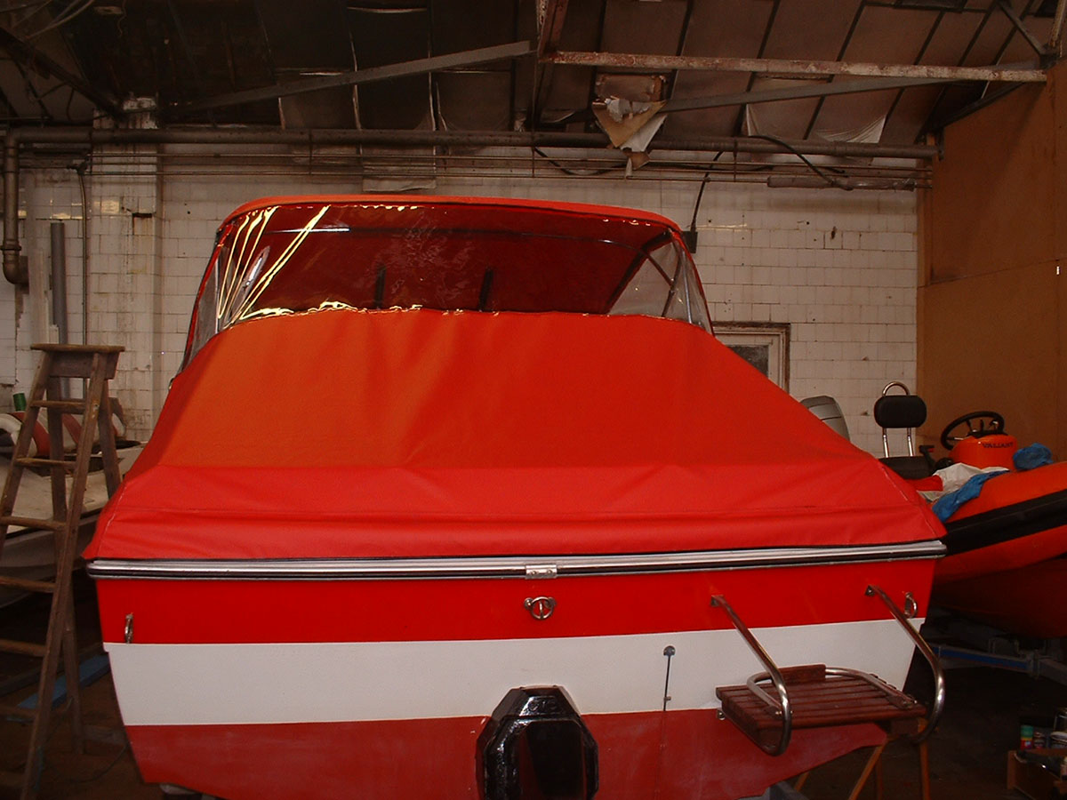 Sunbird Reed Boat Canopy 3