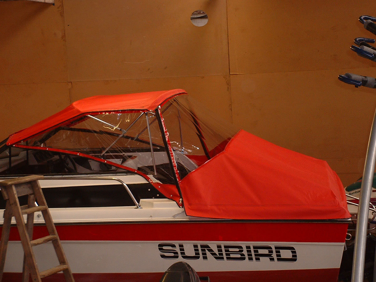 Sunbird Reed Boat Canopy 4
