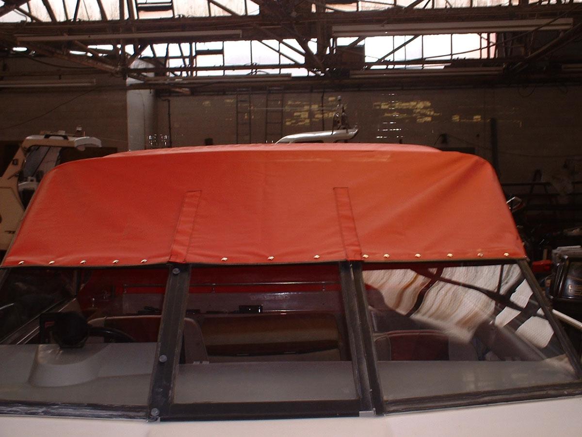 Sunbird Reed Boat Canopy 1
